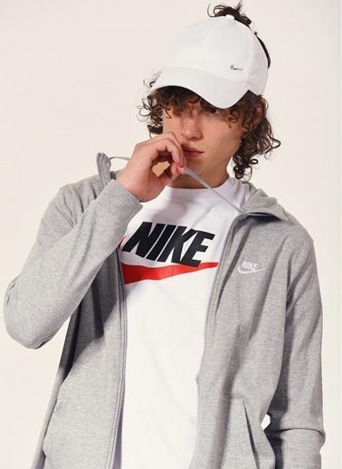Nike Kapüşonlu Sweatshirt Gri